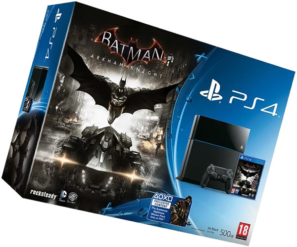 PS4 y Batman